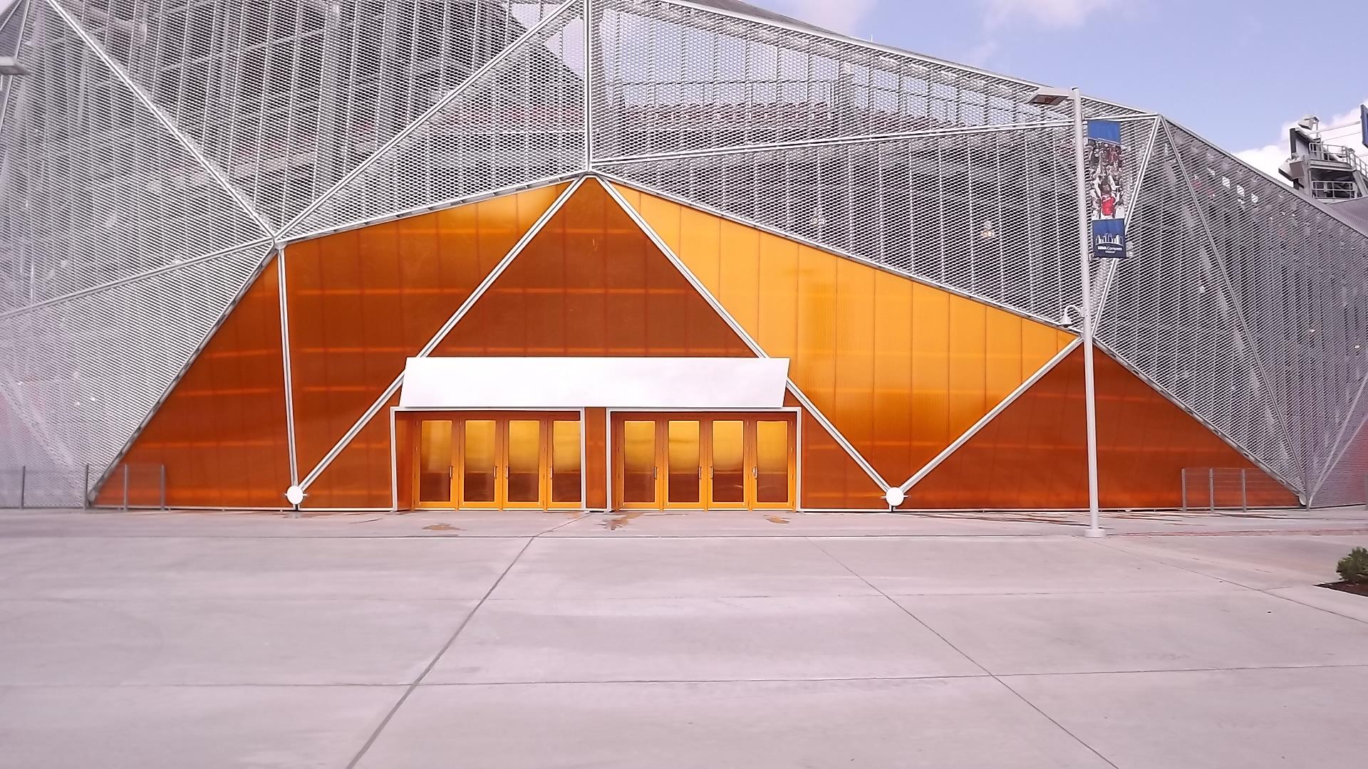 Houston Dynamo Exterior Translucent Polycarbonate Rpc