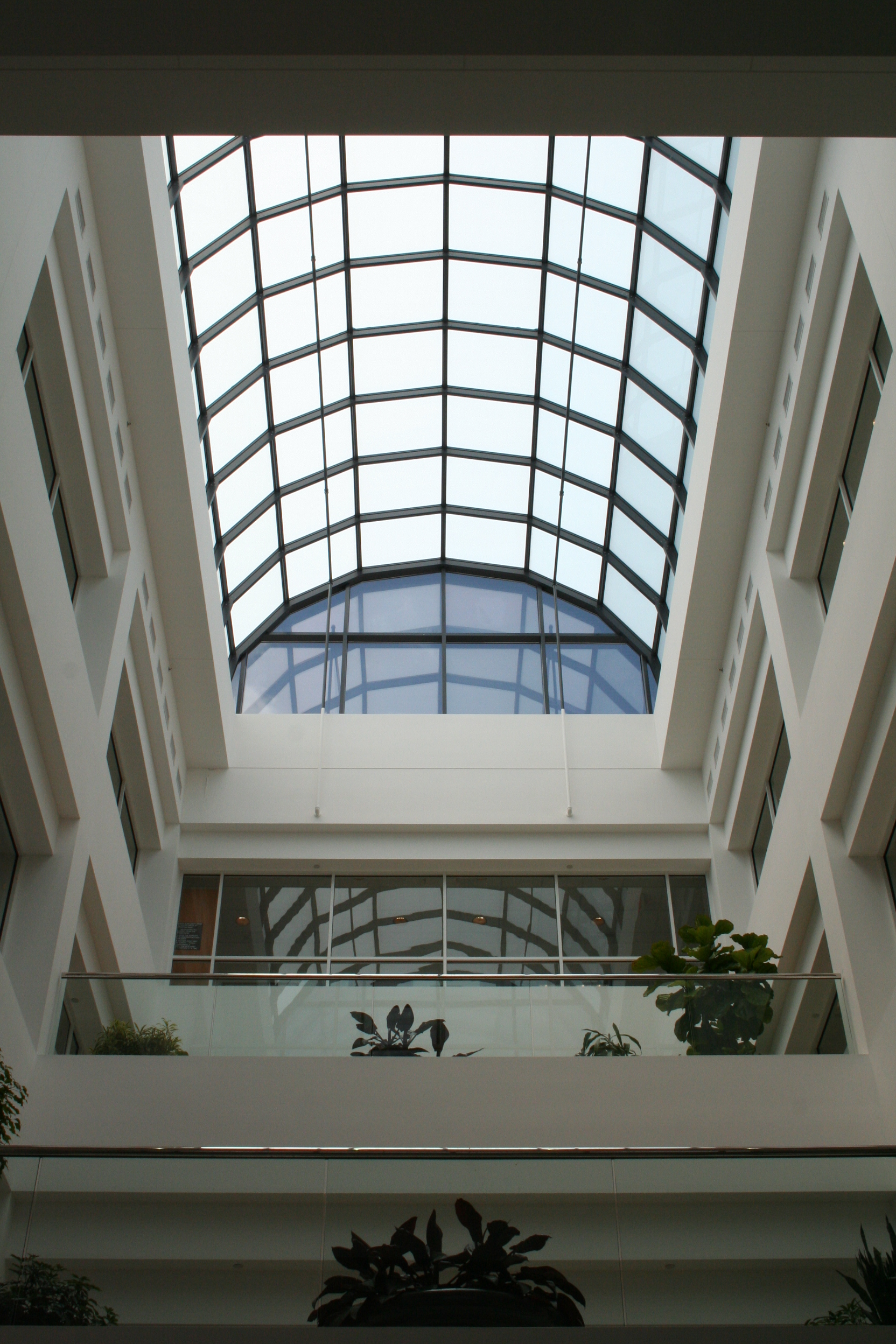 Structural Barrel Vault Glass Skylight